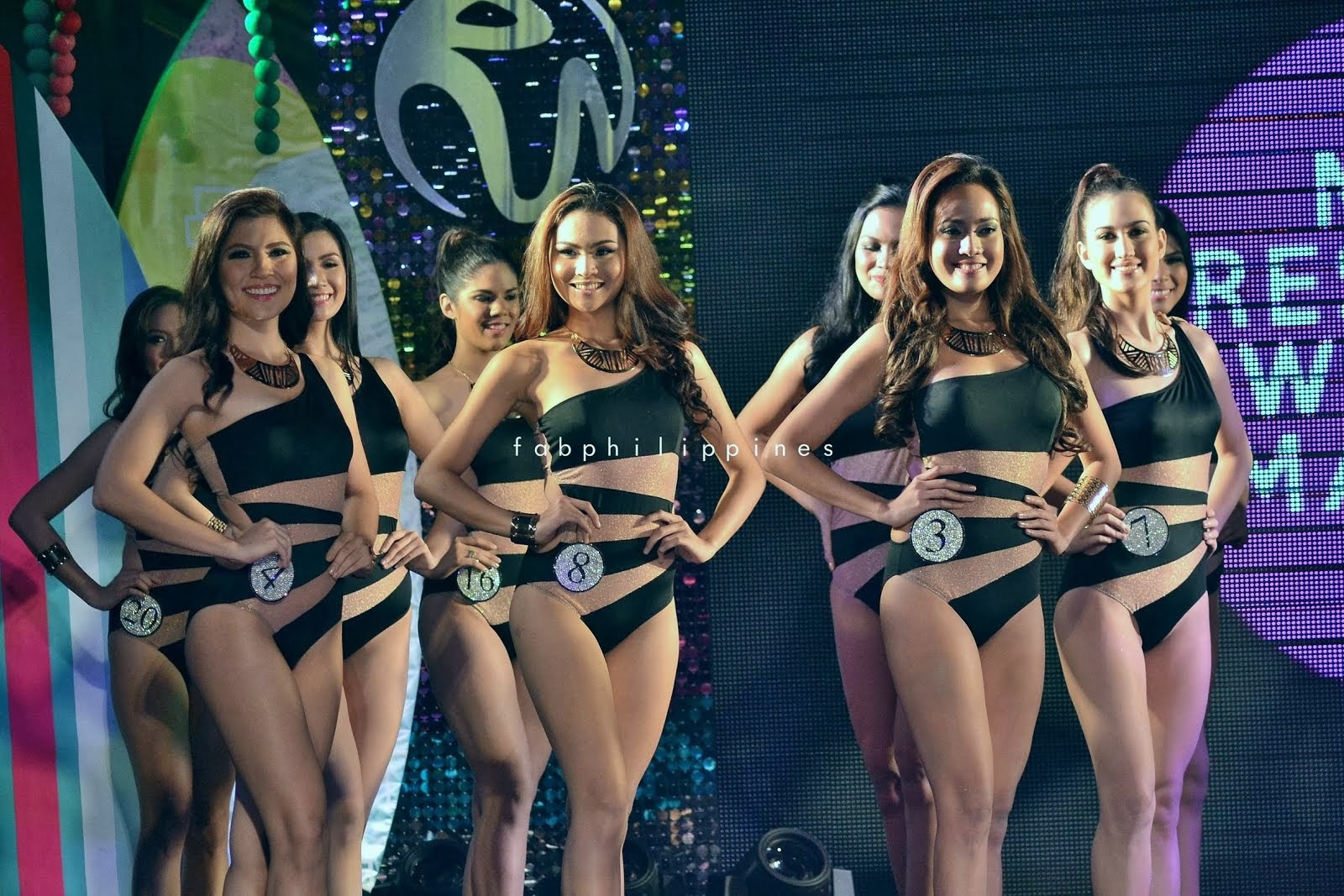 Miss Resorts World 2013 Press Presentation & Swimwear Competition