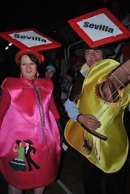 Carnavales 2011 Coslada Madrid Polideportivo Pabellón de La Vía