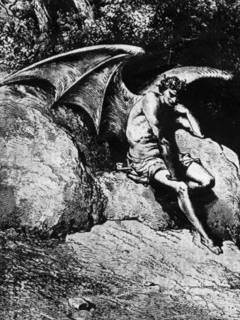 analyzing good vs evil in paradise lost Milton's portrayal of satan in paradise lost and the notion of heroism  he cannot see that it is a conflict between evil and good the unconquerable will is .