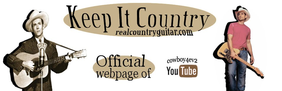 Real Country Guitar: How to Play You and Tequila by Kenny Chesney