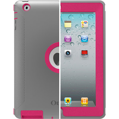 iPad, OtterBox, Defender, Case, Pink