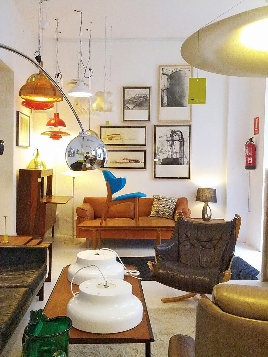 Die-Wohngalerie: Second Hand Möbel und Leuchten aus Spanien