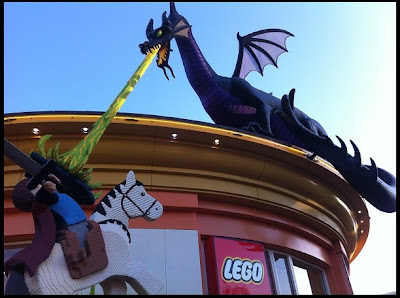 Lego Maleficent Dragon Lego Store Downtown Disney