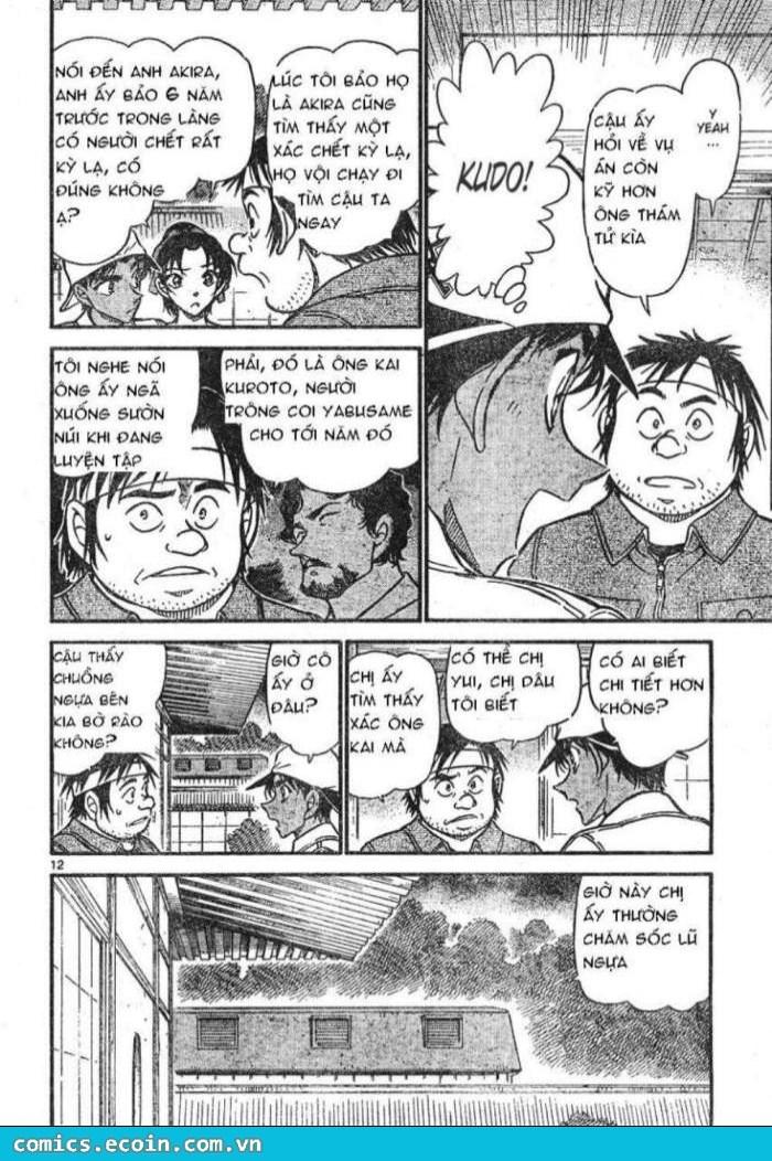 Detective Conan - Thám Tử Lừng Danh Conan chap 613 page 12 - IZTruyenTranh.com