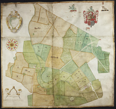 1666 Map of Sopwell Estate