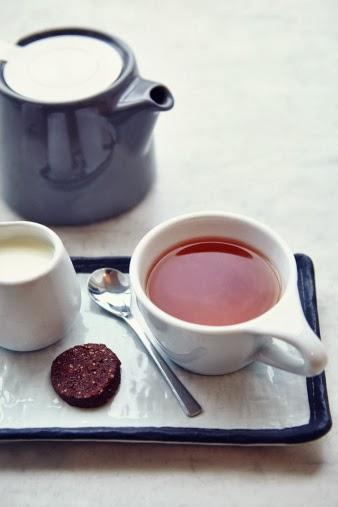chá com leite na irlanda