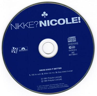 Nikke Nicole – Nikke Does It Better – CDM UK – 1991