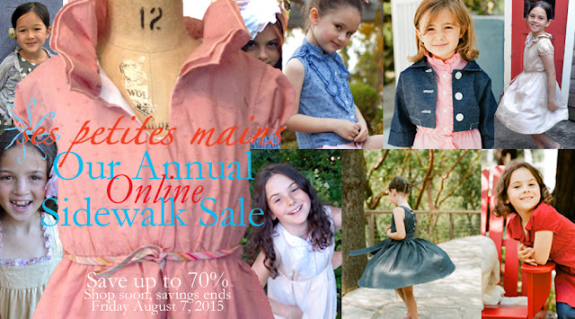 sidewalk sale, tiny chic boutique sale, SFMade, girls dresses, tween dresses, featured in Babiekins Magazine, featured in Martha Stewart Wedding,