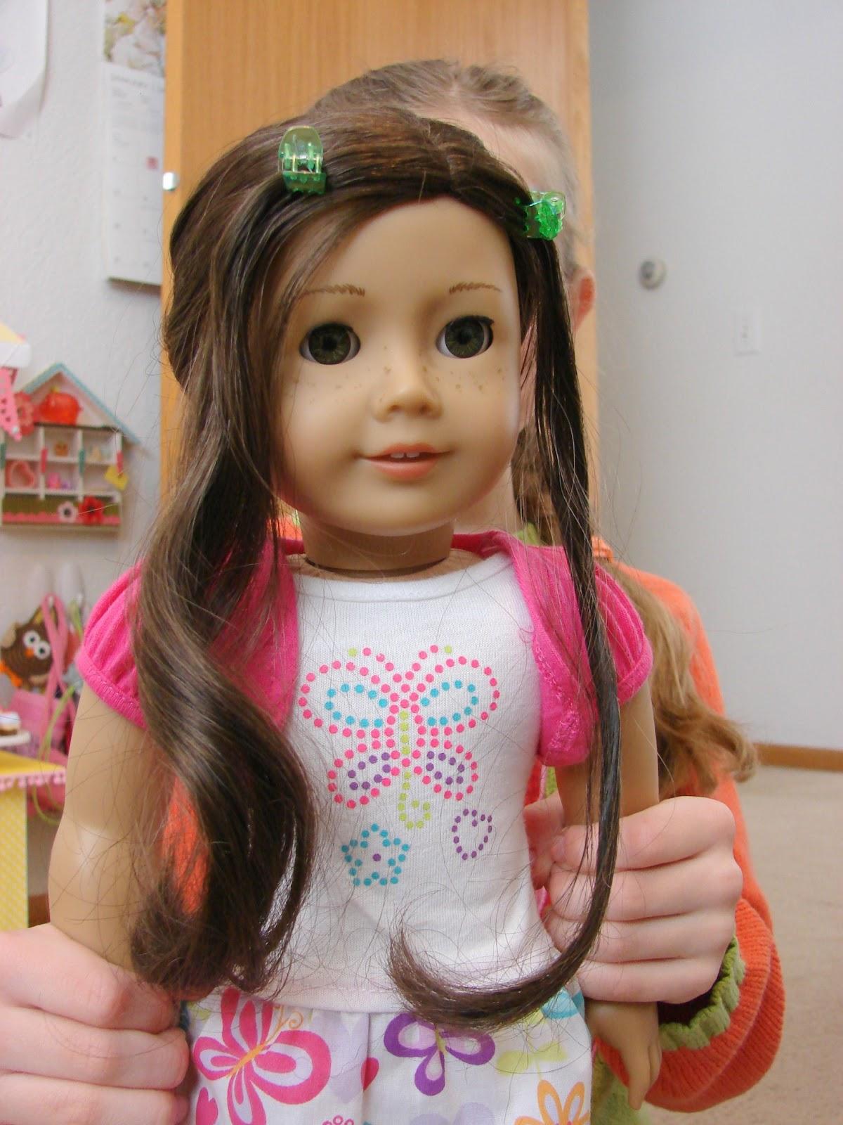 Hair Style Doll : American Girl Doll Play: Doll Play - Hair Styling
