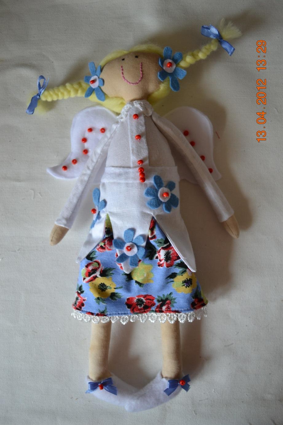Как сделать куклу-фею из ниток своими руками (пошагово) 33 55
