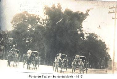 PONTO DE TAXI EM 1917