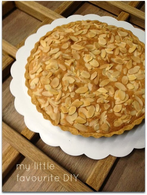 my little favourite DIY: Italian Almond Tart
