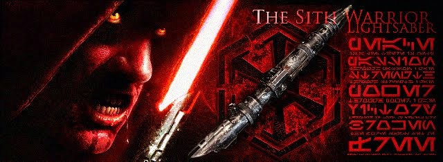 The Sith Warrior Lightsaber