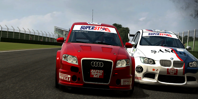 rFactor mod V8 Superstars