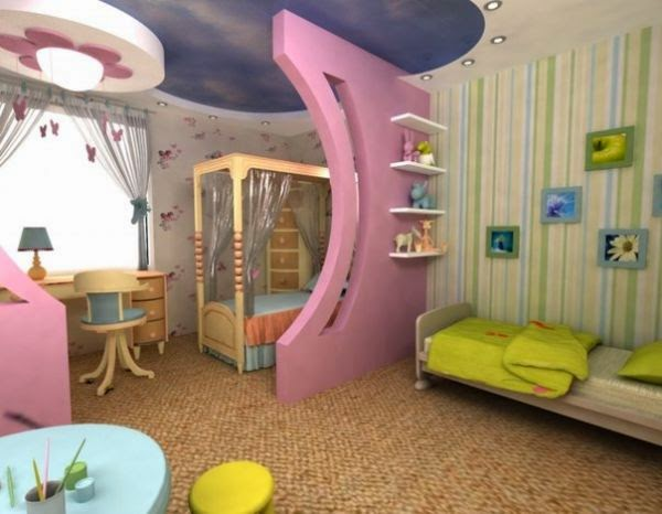 Kids Room Design Ideas For Boy And Girl