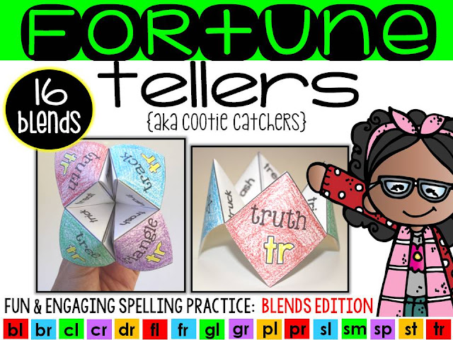 https://www.teacherspayteachers.com/Product/Fortune-Tellers-Cootie-Catchers-Blends-Edition-1904490