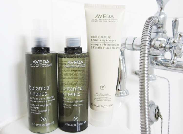 Aveda Botanical Kinetics Purifying Creme Cleanser, Exfoliant & Deep Cleansing Herbal Clay Masque