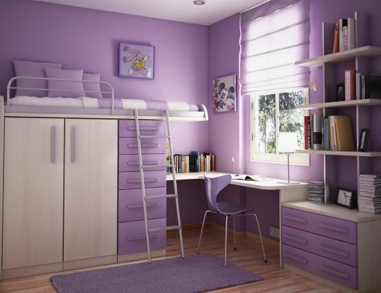 atau ungu cocok untuk anak perempuan yang mulai tumbuh dewasa