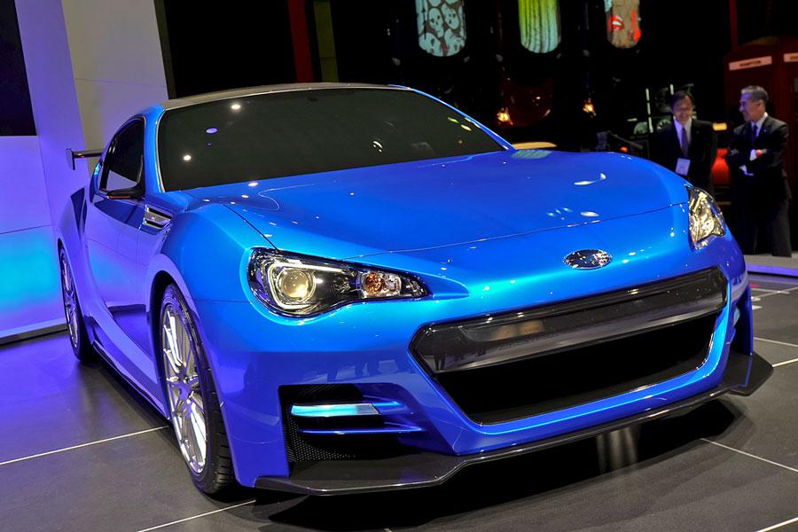 2011 Subaru Brz Sti Concept Best Techno Buzz