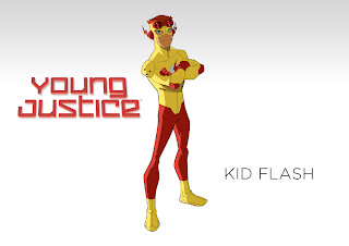 Kid Flash Coloring Pages Young Justice Colouring Page 2
