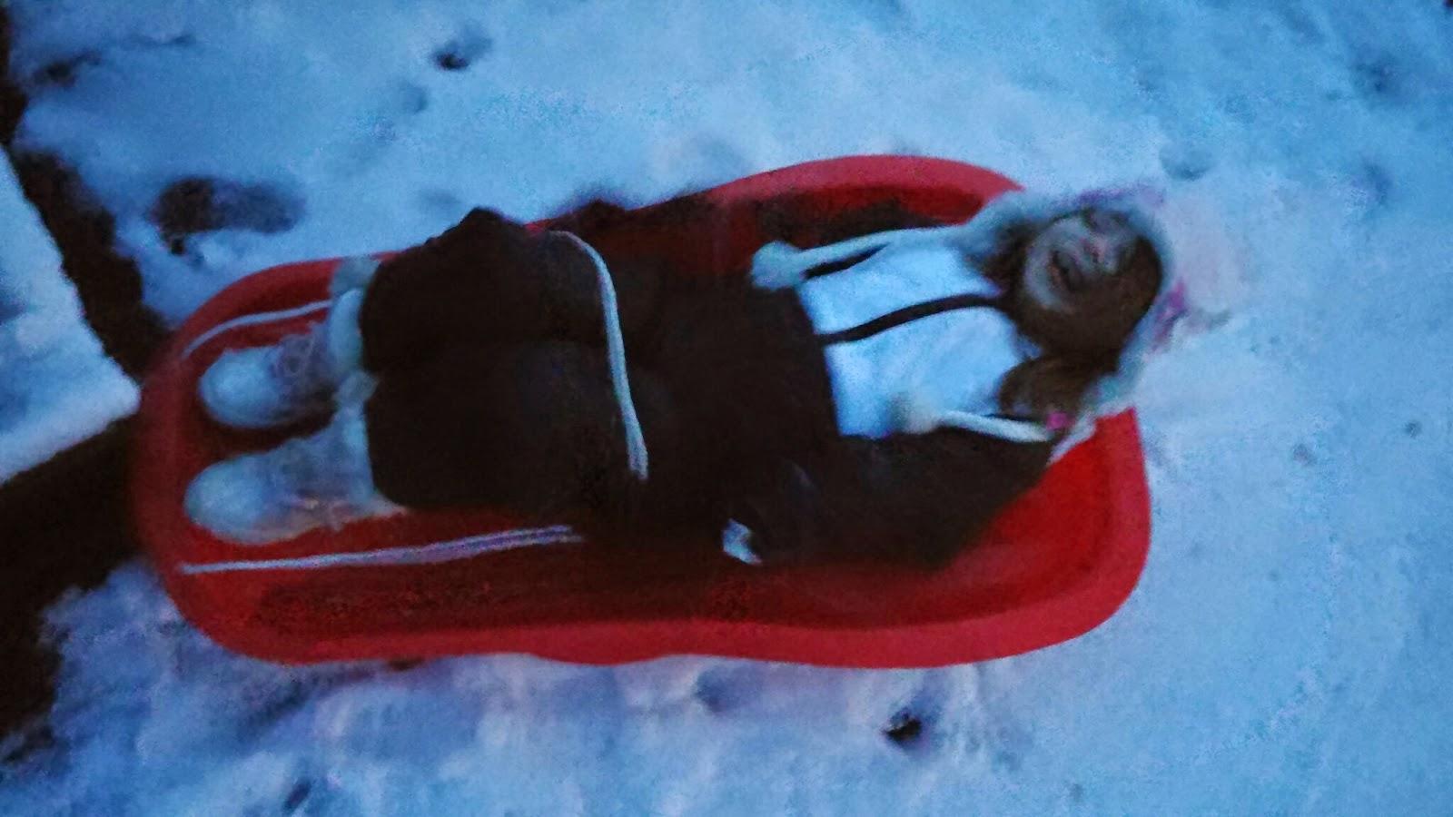 eldest on sledge