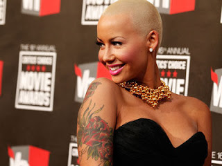 Amber Rose Tribal Tattoos