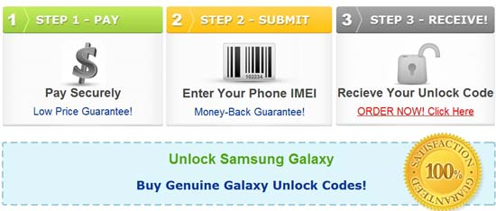 Samsung galaxy phone risk free unlock tips