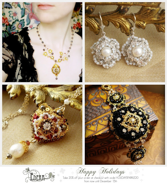 Edera Jewelry Holiday Sale Graphic
