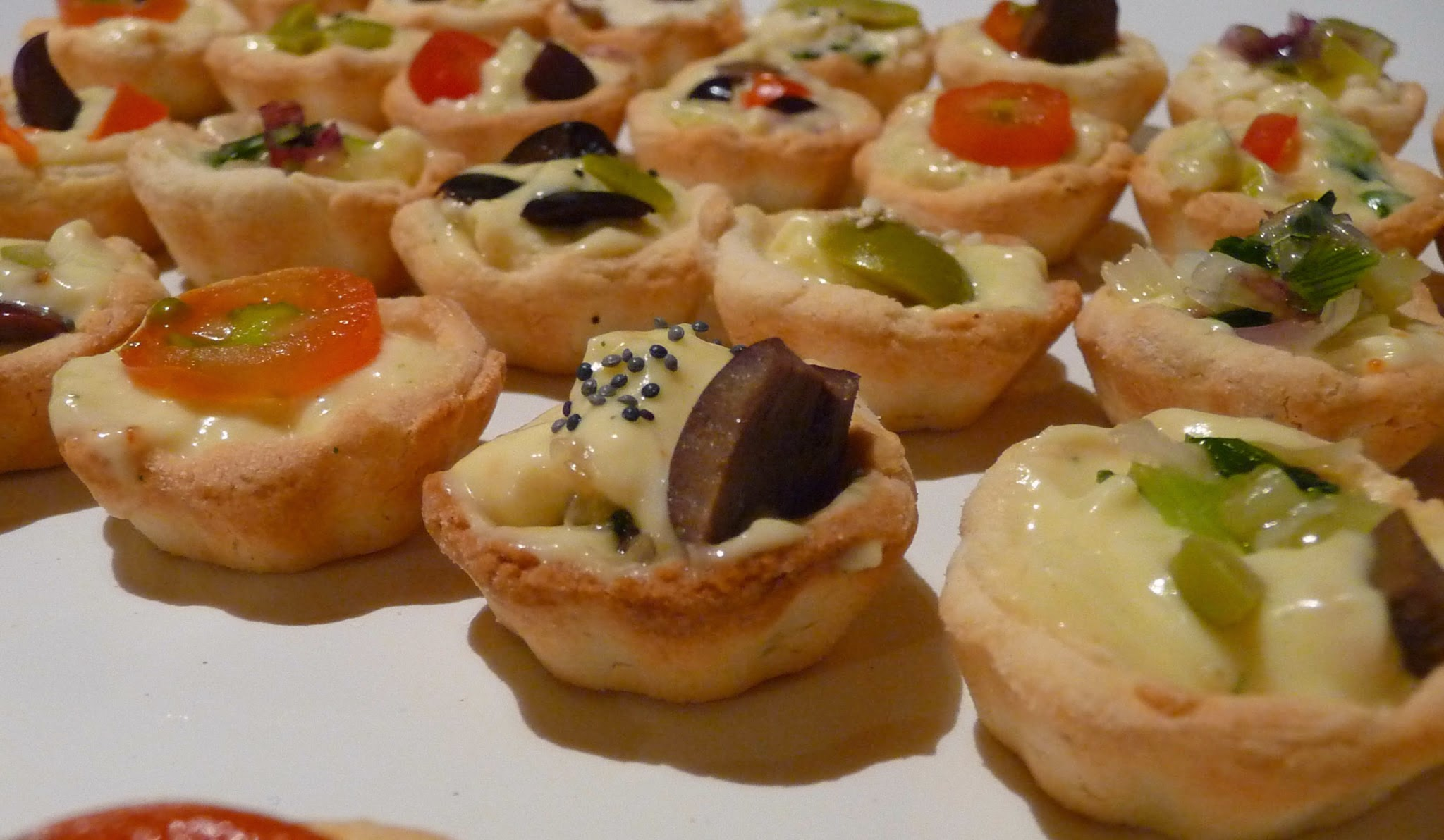 image - a variety of Canapes that might be served at Bobcaygeon Chamber of Commerce Awards Banquet in Dunsford KAwartha Lakes linked to free image source