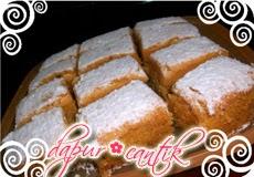 cake pepaya dapur cantik