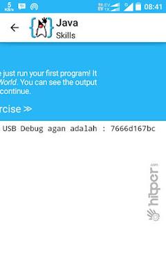 USB Debugging Andromax ES