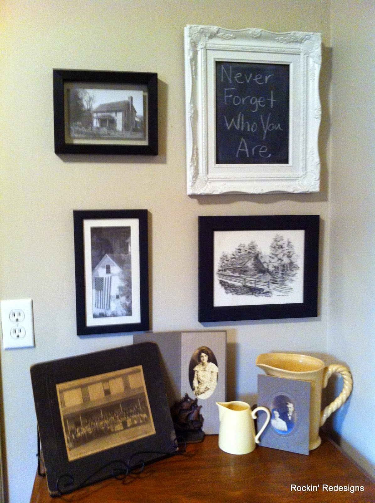 Old Photos in Decor