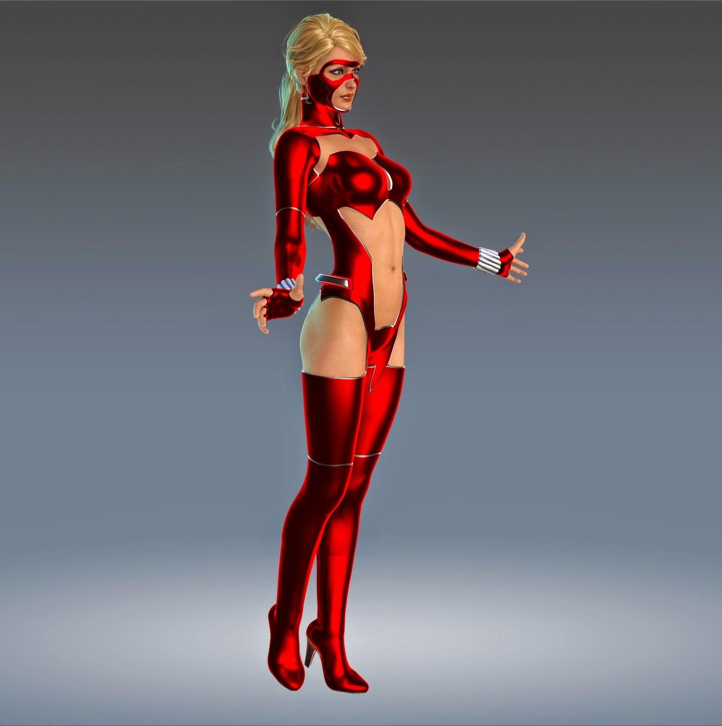 3d Models Art Zone - Supersuit Color Corps