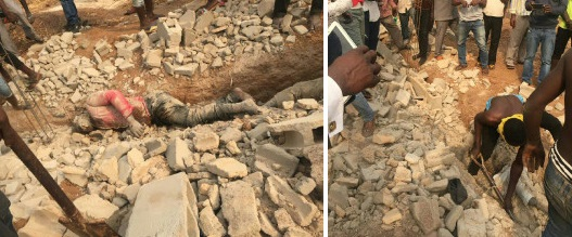 Graphic Photos: 3 Dead Bodies Found At Proposed Church Building