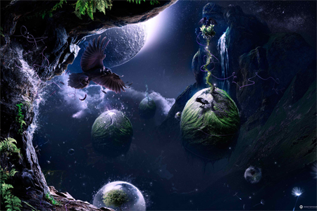 Nature Photo Manipulation: Archipelago