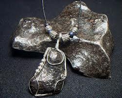 meteorite jewelry
