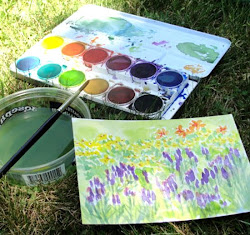 It's time to paint outside once again!