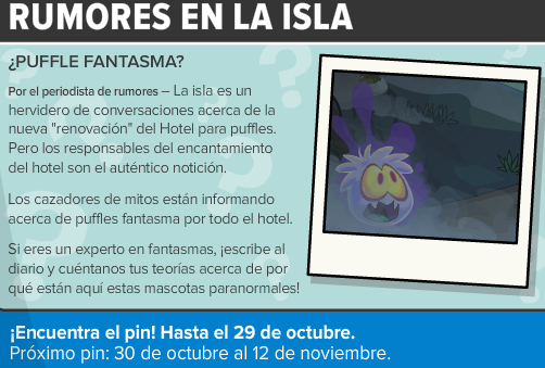 Noticias de Club Penguin #470: ¡Hotel para Puffles Embrujado!