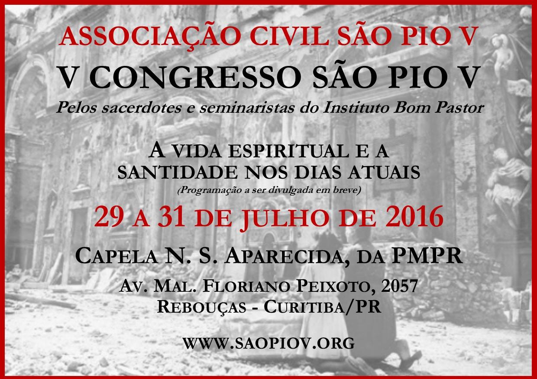 V Congresso São Pio V