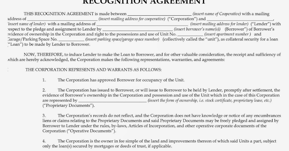 The Aztec Recognition Agreement | Nyc Blog Estate | New York City