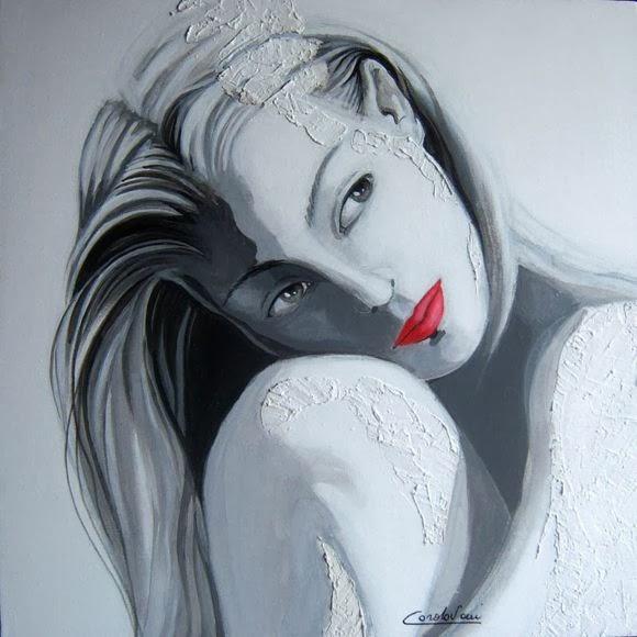 Gambar Lukisan Perempuan