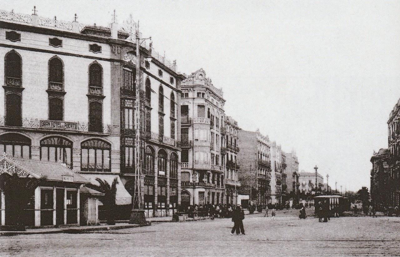 La valencia desaparecida - Hotel avenida del puerto valencia ...