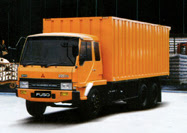 kontener Mitsubishi Fuso Tronton FN 517 ML2, 220 PS 6x2, 10 Ban