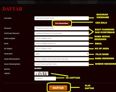 Cara daftar di QilinPoker.com Agen Poker Deposit 15.000