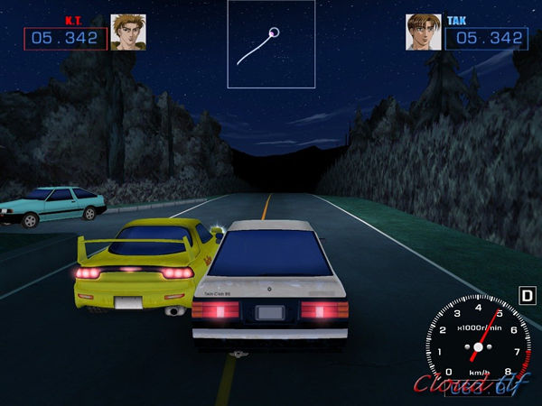 initial d game pc