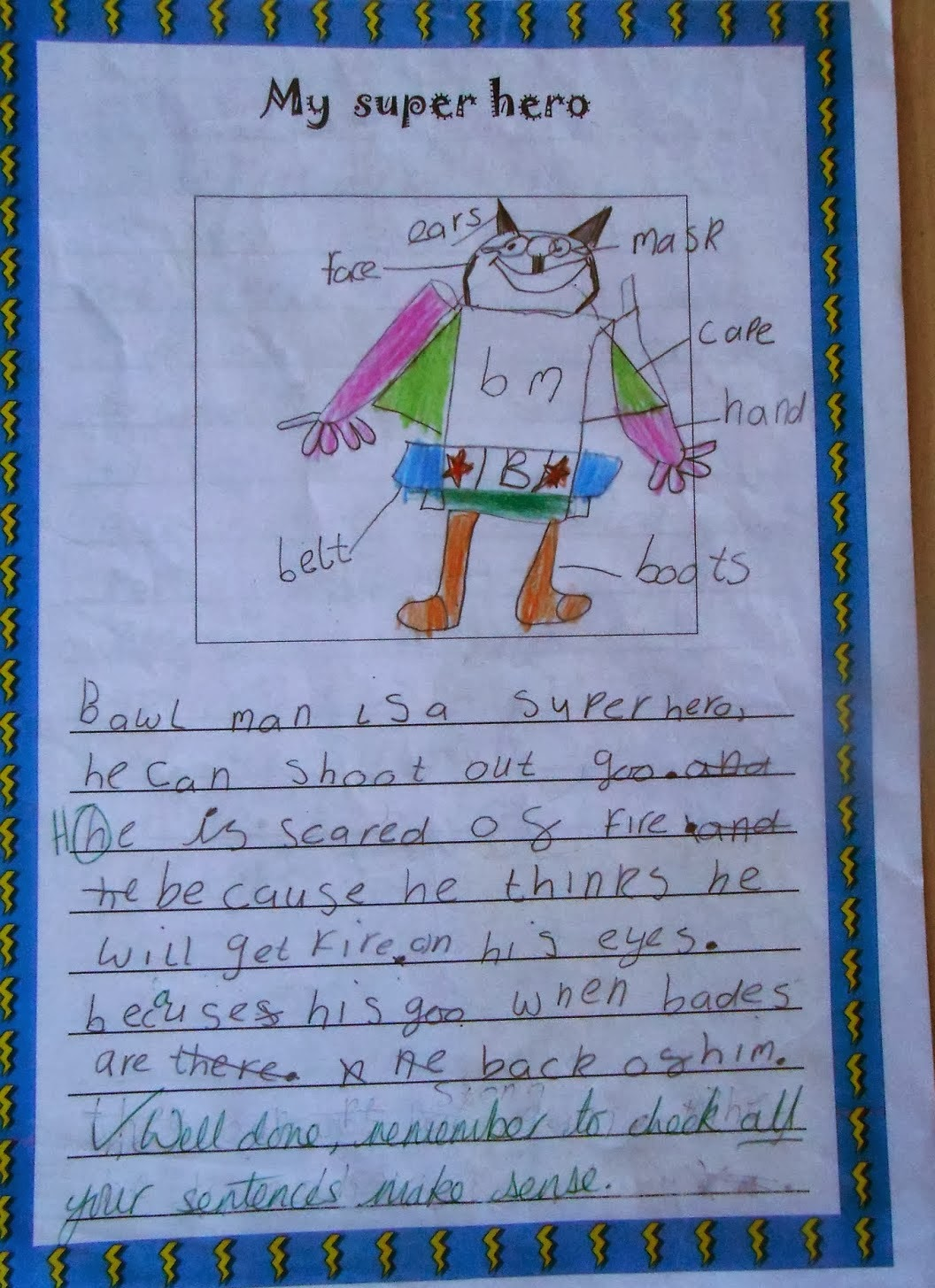 an essay on my favourite hero 3rd grade winner jason klein's entry: my name is jason, i am in the third grade, and mrs collins is my teacher mrs collins is my hero because she.