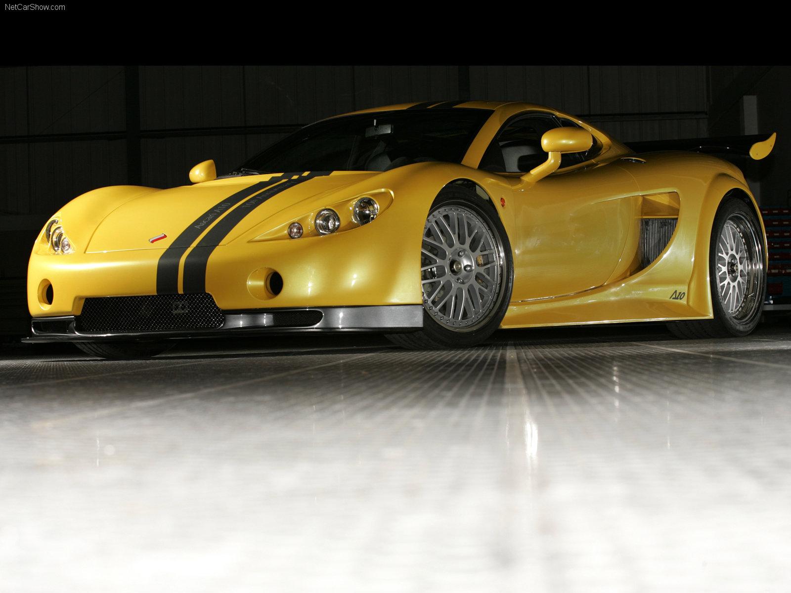 Hình ảnh xe ô tô Ascari A10 2007 & nội ngoại thất