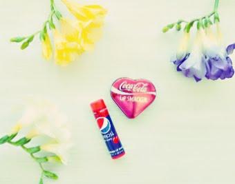 Cola & Pepsi Lip Balm