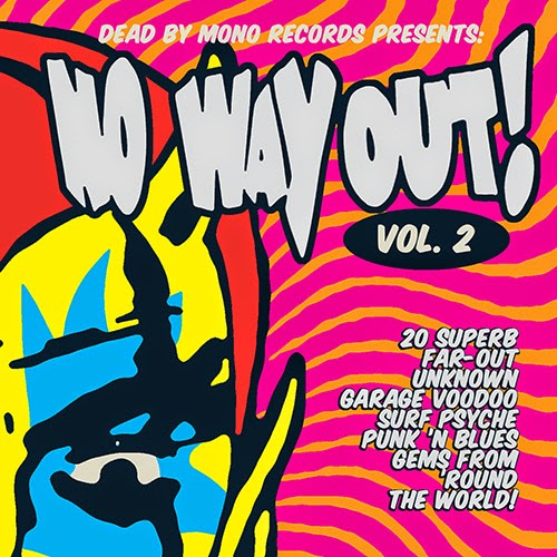 NO WAY OUT! Vol.2 - 20 Superb Far-out Unknown Garage... CD