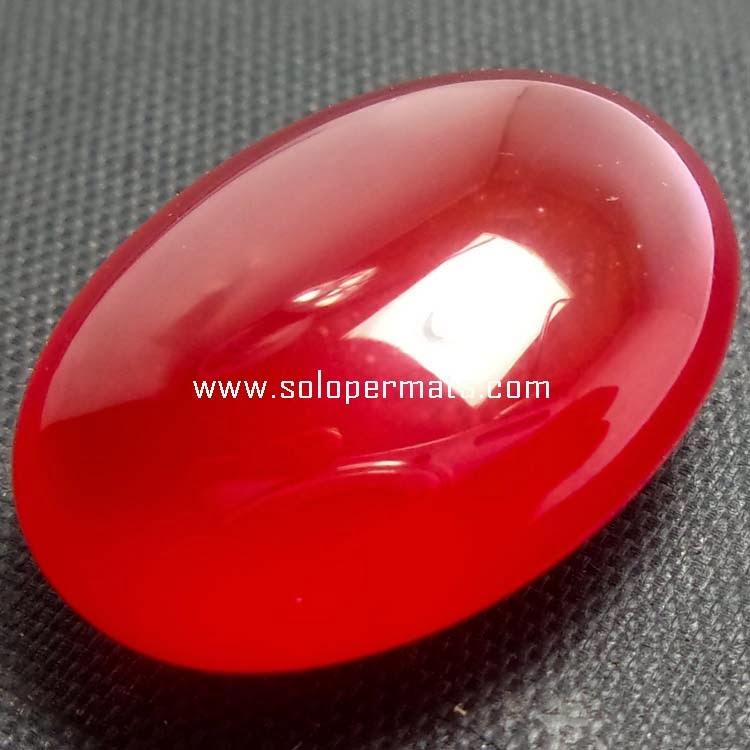 Batu Permata Red Carnelian - 06B08